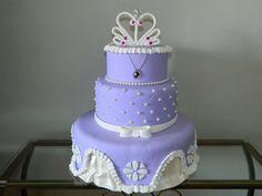 bolo fake da princesinha sofia - Pesquisa Google