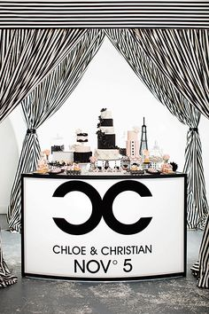 Coco Chanel Theme / Luxure Weddings / http://blog.revo.net.pl