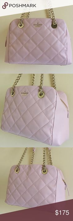 Kate spade dewy satchel Never used ... might have some wear from being storaged but nothing that I could notice.. authentic no tags / labels attached... no lowballing.. use offer feature to negotiate or you will be ignored kate spade Bags Satchels