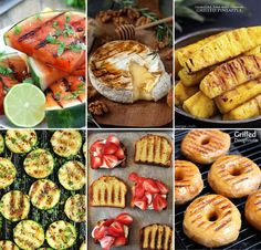 Switch things up this summer and throw some of these things you never thought of grilling on the barbecue while your meat cooks. These look soooooo good!!