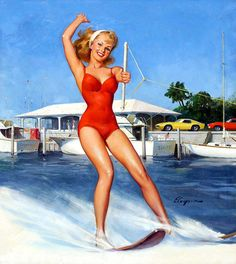 11 best pin up sport images on pinterest pin up girls cartoon water sports pin up style thecheapjerseys Images