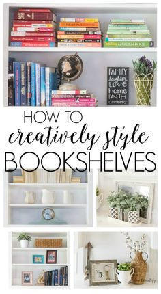 These 5 tips will have you styling your bookshelves like a pro! #tipstostylebookcase #formandfunction