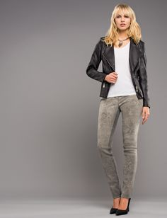 Trendy jeans with print from our Robell Autumn/Winter 2015 collection