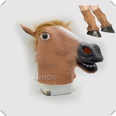 Creepy horse mask man sweepstakes