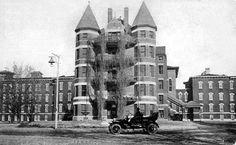 Early Psychiatric Hospitals | The Kansas Insane Asylum was established in 1866. It is still