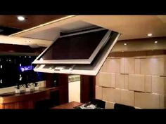Motorized Flip Down Ceiling Mount For Led Flat Screen Tvs This Comes With A 4 Year Warranty On Parts
