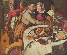 Artist Monogrammist Hb.  Title Deutsch: Der verlorene Sohn Datebetween 1525 and 1550 Mediumoil on panel Dimensions127,5 × 155,5 cm Current location Royal Museums of Fine Arts of Belgium