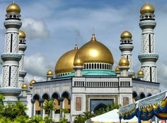 Jame asr masjd in brunei beautiful mosques gallery around the