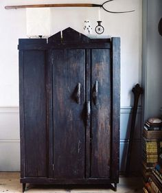 i love this antique cabinet.. i want one for all my sacred things