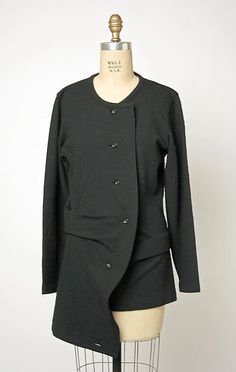 * Sweater wool ca. 1984 Rei Kawakubo pour Comme des Garçons