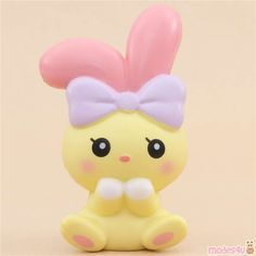 scented white angel bunny animal squishy by iBloom - iBloom Squishy - Squishies - Kawaii Shop Animal Squishies, Cute Squishies, Ibloom Squishies, Dp Photos, White Angel, Cute Clay, Colorful Animals, Cute Plush, Kawaii Shop
