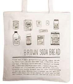 I have more bags than I can count, but I love these totes via Alessandra Olanow. $26 #tote #bag via Design Sponge