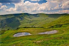 Carpathian puddles / Лужи на хребте Свидовец, Карпаты