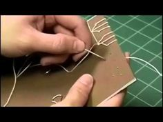 ▶ Japanese Stab Binding Tortoise Stitch - YouTube