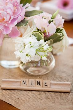 Breezy California Wedding from Elle Jae Photography - love the table number idea