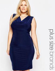Praslin Plus Size Bodycon Dress