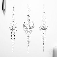 Boho Tattoos, Mini Tattoos, Cute Tattoos, Body Art Tattoos, Kritzelei Tattoo, Sternum Tattoo, Small Chest Tattoos, Freundin Tattoos, Simple Tattoos For Women