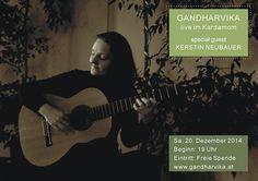 Konzert mit Gandharvika 20.Dez. Live im Kardomon Wien!!! Music Instruments, Guitar, Live, Movies, Movie Posters, Fandom, Concert, Films, Musical Instruments