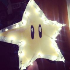 Mario Christmas tree star!!