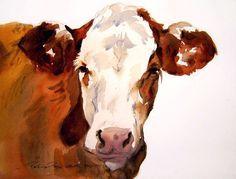 Cow Watercolor - Поиск в Google