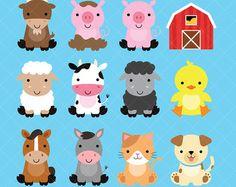 Lindo Conjunto De Imagenes Predisenadas Animal Por PaperLovingShop