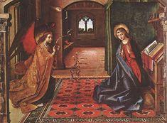 Annunciation by Pedro Berruguete