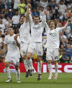James, Kovačić, Bale, Modrić.