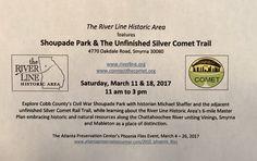 Save the dates: 2017 Shoupade Park tours, March 11 & 18. #civilwar