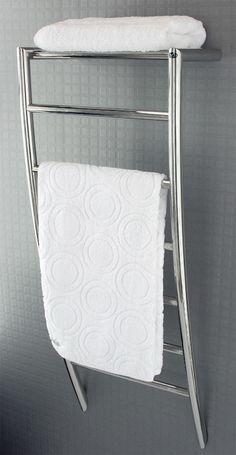 Ensuite OZ Heated Towel Rail | DCShort | The finest range of quality designer Stainless Steel Heated Towel Rails.