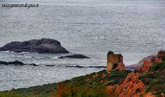 tresnuraghes, torre costiera ischia ruggia