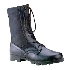 10610ce1f93 Rothco GI Type Speedlace Jungle Boot Black 13M Jungle Boots