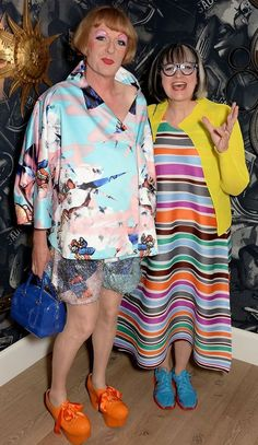 Grayson Perry and Phillipa Perry