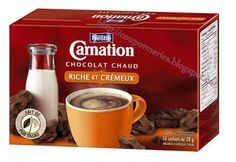 Coupons et Circulaires: 1,50$ CARNATION Chocolat chaud Chocolate Powder, Hot Chocolate Mix, Carnations, Coupons, Oatmeal, Menu, Pure Products, Cooking, Tableware