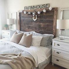 37 Modern Farmhouse Style Bedroom Decor Ideas