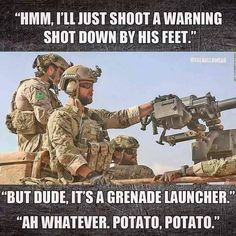 Military and army are the backbone of defense fro any country but as you know us, we are not here to discuss any thing like this , let us show you a collection of Top 20 military memes funny army that are so hilarious. Military Jokes, Army Humor, Military Life, Military Army, Usmc, Marines, Excuse Moi, By Any Means Necessary, American Soldiers