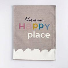 Our Happy Place – Art Print – And so to Shop Kids Bedroom, Bedroom Decor, Art Prints, Places, Happy, Shop, Art Impressions, Ser Feliz, Dorms Decor