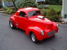 1940-1941 Willys Gassers » Fast Times Rods - Hot Rod Cars, 41 Willys, Willys Gasser