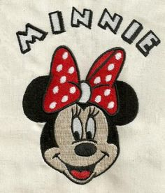 Minnie mouse 045 - Machine embroidery design