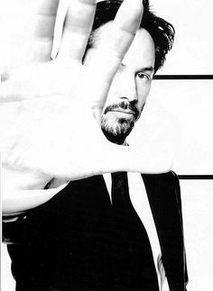 Keanu Reeves Black And White