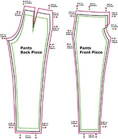 Grading your Patterns – Method Sewing Hacks, Sewing Tutorials, Sewing Tips, Pattern Grading, Sewing Alterations, Back Pieces, Athletic Tank Tops, Pants, Patterns