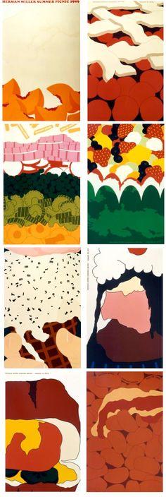 Herman Miller picnic posters.