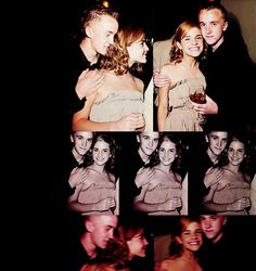Tom and Emma are adorable. Especially since she had the biggest crush on him at the time.