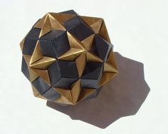Compound of Dodecahedron and Great Dodecahedron by ~manilafolder on deviantART