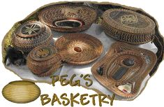 Pine Needle Coiled Baskets by Peg's Basketry Arnoldussen