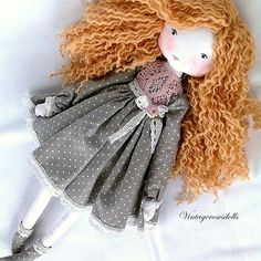 Fabric Doll Pattern, Doll Sewing Patterns, Sewing Dolls, Fabric Dolls, Doll Crafts, Diy Doll, Homemade Dolls, Doll Tutorial, Soft Dolls