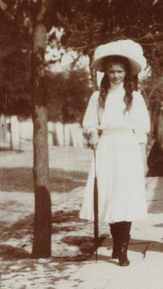 "Grand Duchess Olga Nikolaevna Romanova of Russia. ""AL"""