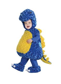 UHC Dinosaur Stegosaurus Dino Animal Theme Toddler Kids Halloween Costume, 2T-4T * You can get more details at