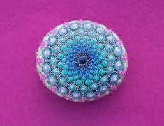 30+ Rock Mandala Stone Patterns Ideas #Colourful #PaintedStone #DIY #MandalaStone #Rock #Template #Ideas