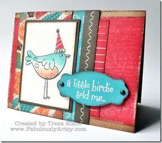 little birdie card - June SOTM