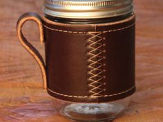 The Holdster Mason Jar Mug: I wish I had the money to back this project. A set of four of these would be awesome.